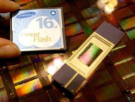 Samsung Unviels New Flash Memory Chip