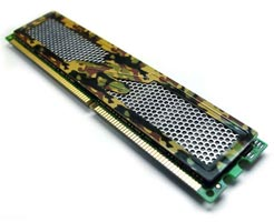OCZ Technology Launches PC  Memory With Jungle  Camouflage Spreaders
