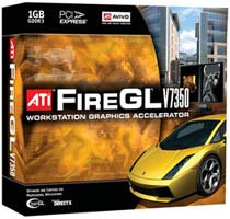 ATI Launches The 1GB FireGL V7350 Video Card