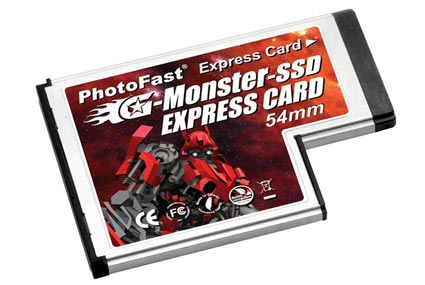 PhotoFast G-Monster-Express Card 34/54 SSD
