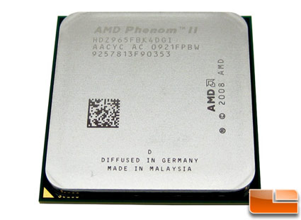 AMD Phenom II 965 Black Edition Processor Review