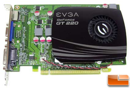 EVGA GeForce GT 220 SSC DDR3 Video Card