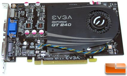 EVGA GeForce GT 240 SuperClocked graphics card