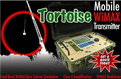 Tortoise WiMAX transmitter