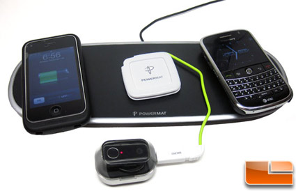 Wireless Phone Charging With PowerMat