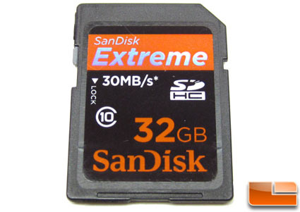SanDisk 32GB Extreme 30MB/s SDHC Memory Card Review