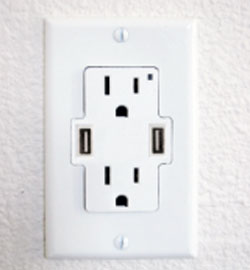 Power Outlet With Built in USB Ports