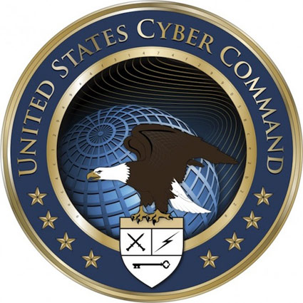 U.S. Cyber Command's logo
