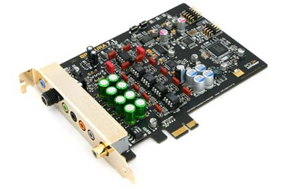 Auzen X-Fi Bravura 7.1 Sound Card Released