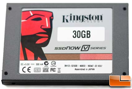 Kingston 30GB SSDNow V Series Boot Drive