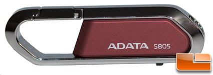 A-DATA 8GB Nobility S805 USB 2.0 Flash Drive