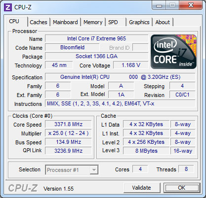 CPU-Z 1 55 Now Available for Download - Legit Reviews