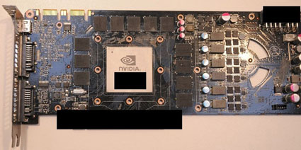 NVIDIA GeForce GTX 480 Video Card Pictures