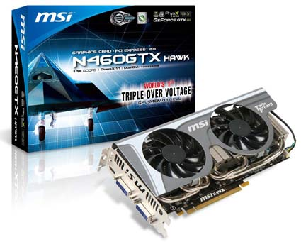 MSI N460GTX Hawk Video Card