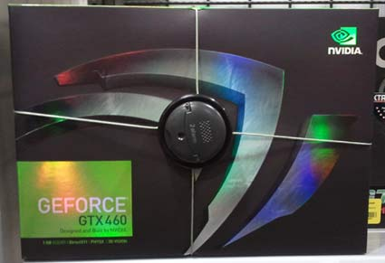 NVIDIA GeForce GTX 460 1GB Video Card