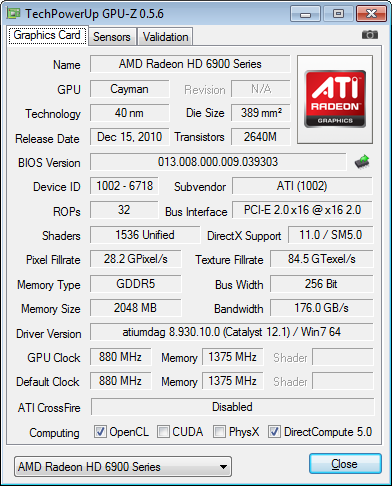������� Radeon X1300 X1550 Series Secondary ���������