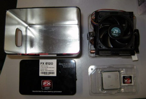 retail boxed AMD FX-8120 Bulldozer Processor