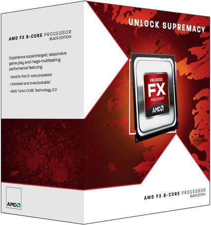 AMD FX Zambezi Processor Box