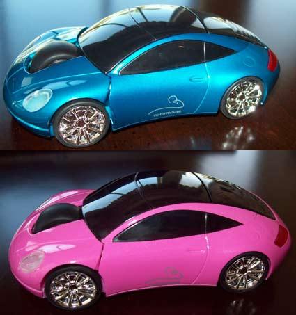 Mouse a motore-Rosa Classic Sports Car