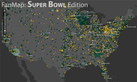 Super bowl xlv fan map be sure to vote legit reviews super bowl xlv fan map sciox Gallery