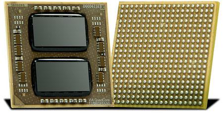 Quad Core Processor Logo Via Quadcore Product