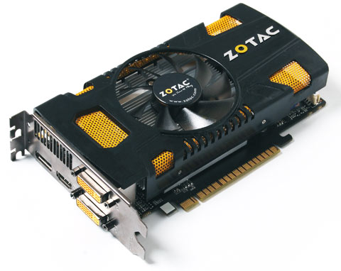 ZOTAC GeForce GTX 550 Ti graphics card
