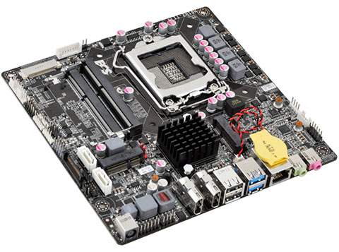 ECS H61H2-TI mainboard