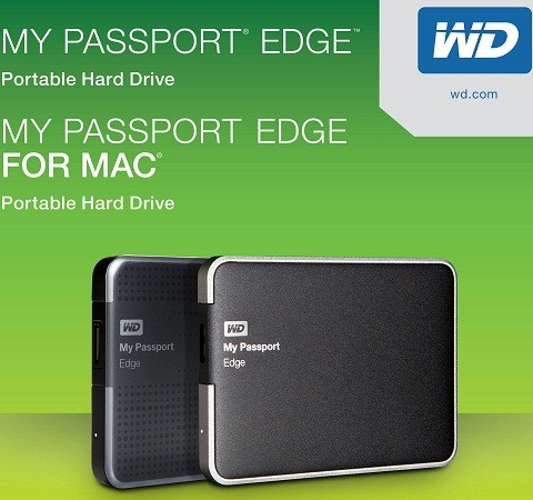 WD My Passport Edge