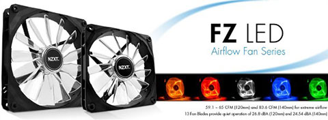 NZXT Announces New High Performance Fans - FZ Series - Legit