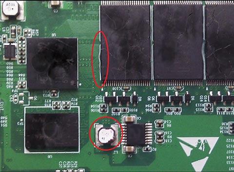 RunCore InVincible SSD Damage