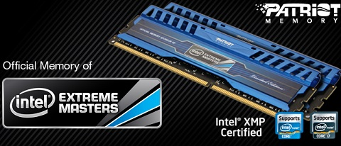 Intel Extreme Masters Limited Edition DDR3 Memory