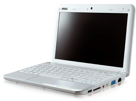 MSI Wind U100-641 Netbook