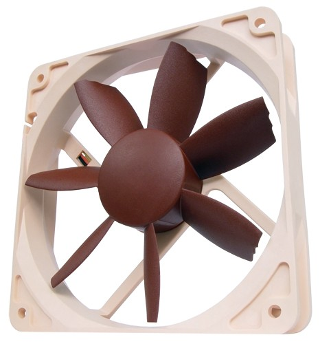 Noctua NF-S12B FLX Case Fan Review
