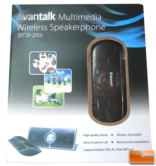 Avantalk BTSP-200 Speakerphone Box