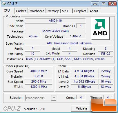 AMD Phenom II X4 955 Processor Overclock