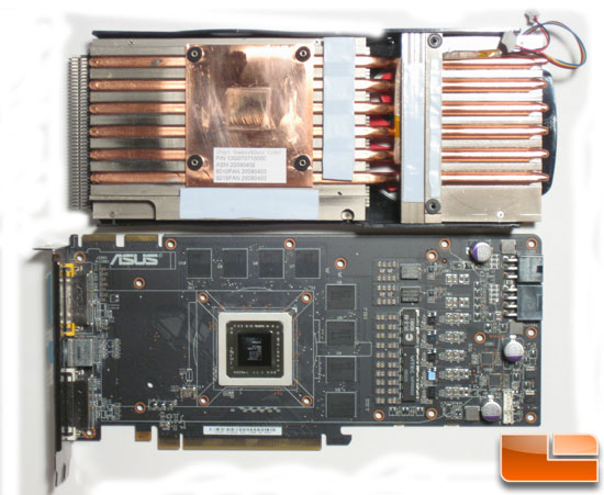 Asus HD 4890 Heatsink and PCB