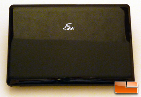 ASUS Eee PC 1005HA Seashell Closed