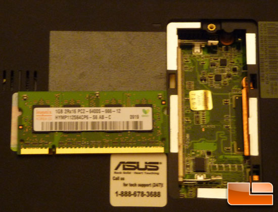 ASUS Eee PC 1005HA Seashell Memory