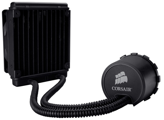 Corsair Hydro Series H50 CPU Water Cooling Kit Review