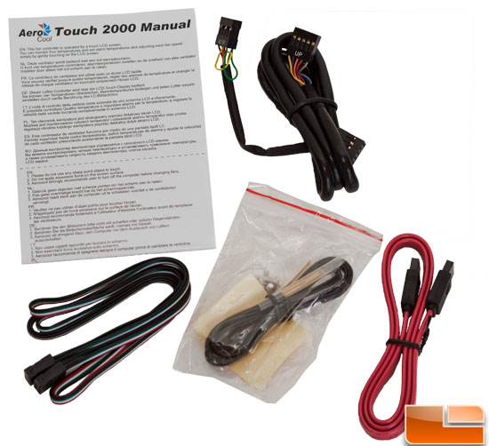 AeroCool Touch-2000 Accessories