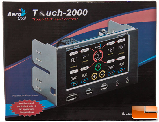 AeroCool Touch-2000 LCD Fan Controller Review