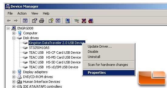 Install Windows 7 from a USB Key XP drive prep step 2