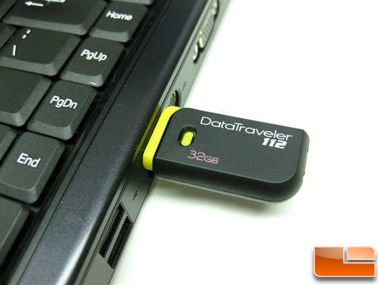 Kingston DataTraveler 101 4GB Test System