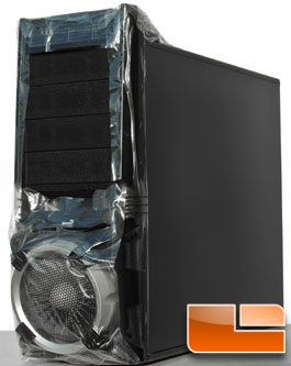 AeroCool Vx-E - Front View With Cling