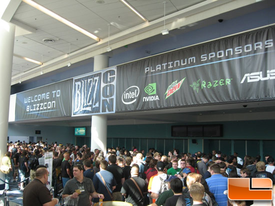 Blizzcon 2009 Door Line Picture
