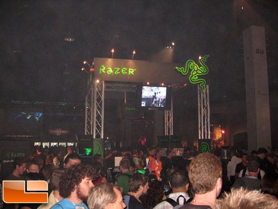 BlizzCon 2009 Razer Booth