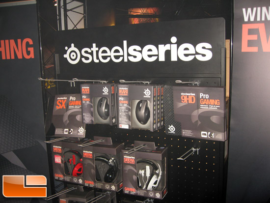 BlizzCon 2009 SteelSeries Booth