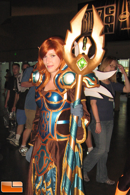 BlizzCon 2009 CosBabe