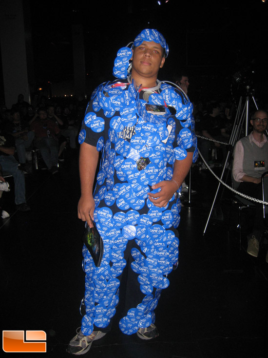 BlizzCon 2009 Cosplay Intel Dude