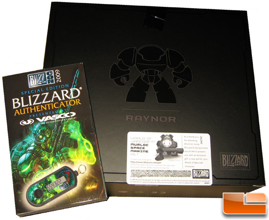 BlizzCon 2009 Goody Bag